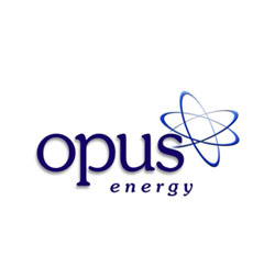 Opus energy logo design