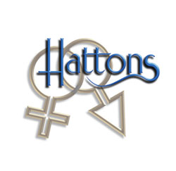 hattons dating agency logo design